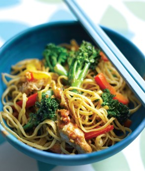 Broccoli Peanut Noodles