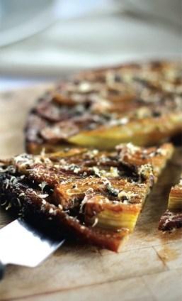 Celery Tarte Tatin