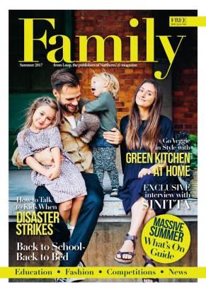Family magazine cover