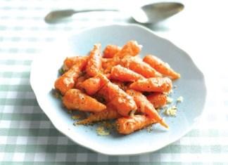 Parmesan Crusted Chantenay