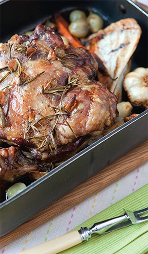 Slow Cooked Shoulder Lamb