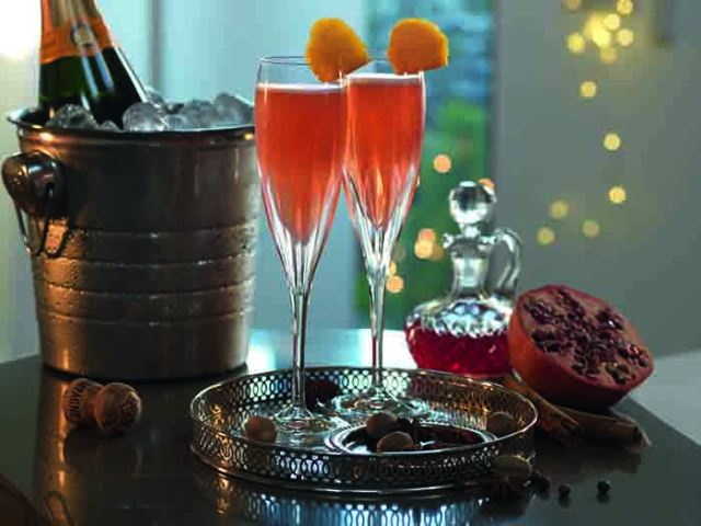 Mulled Champagne