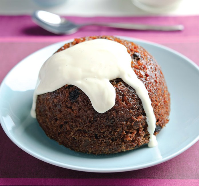 beetroot raisin ginger pudding
