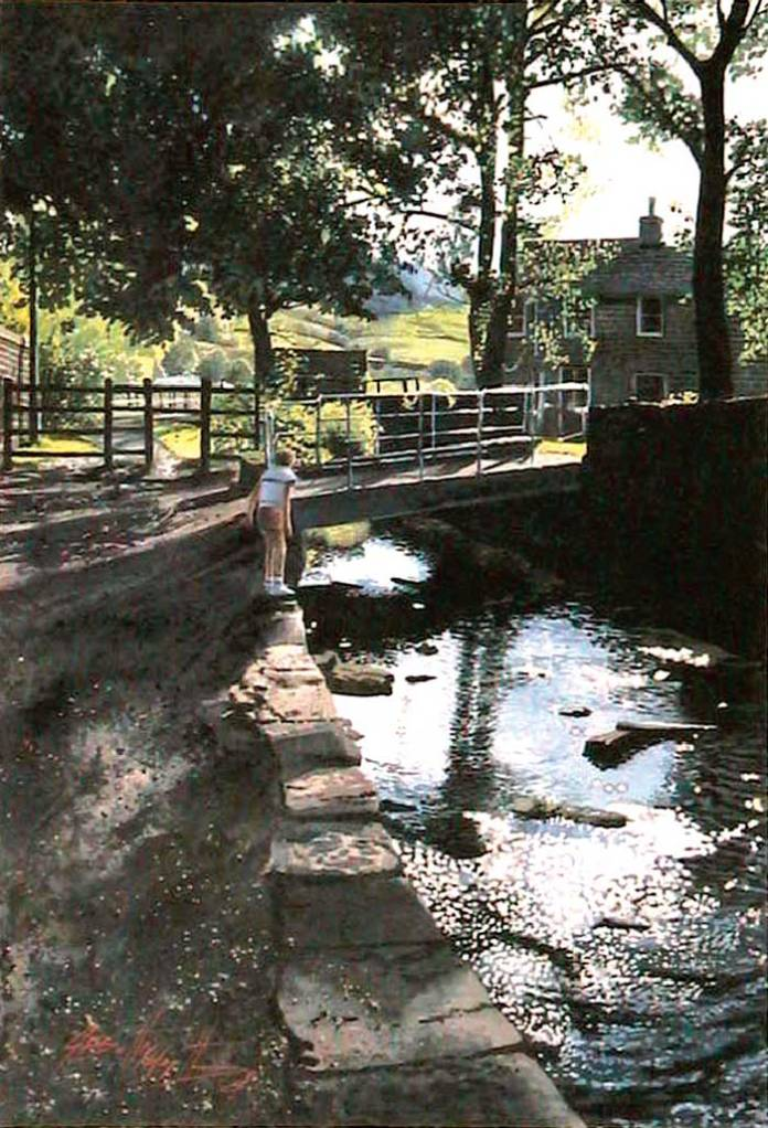 The Stream at Delph, near Oldham