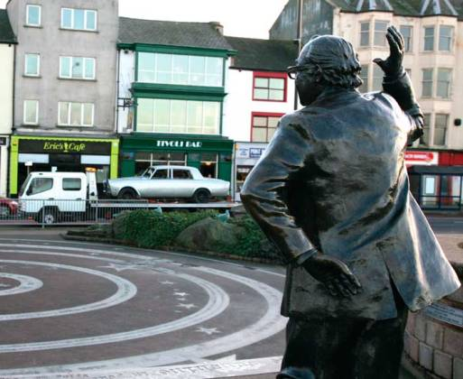 Eric Morecambe's statue