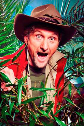 Carl Fogarty in the jungle