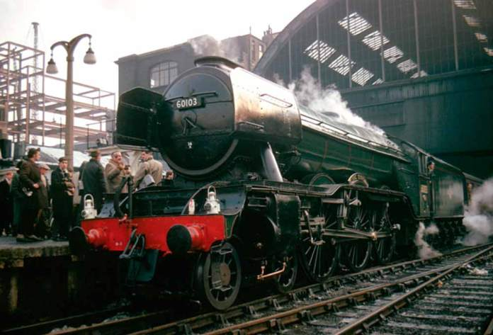 Flying Scotsman BR green