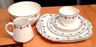Shelley tea set