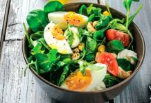 Super skin food salad recipe