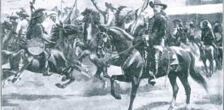 Buffalo Bill introducing Rough Riders of the World