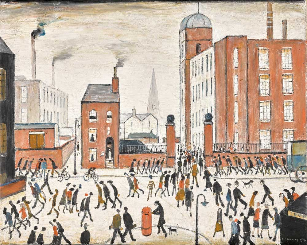Famous Lowry Paintings Manchester