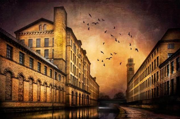UNESCO Salts Mill by Rais Hasan