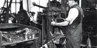 Clog making in Preston