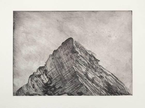 Kathryn Desforges Peak I 56 x 76cm Etching