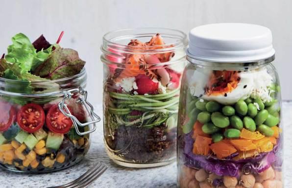 salad jar shakers