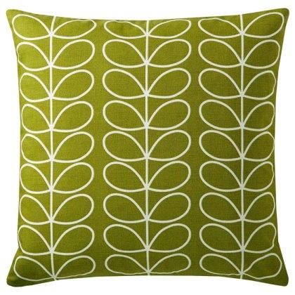 Orla Kiely Linear Stem Cushion, Apple