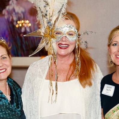 Northern Ohio Opera League Masquerade at Landerhaven, Sherry Stein Espstein, Joyce, Katy Talty.