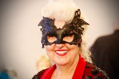 Northern Ohio Opera League Masquerade at Landerhaven, Carole Roske.