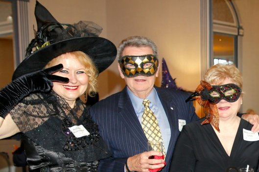 Northern Ohio Opera League Masquerade at Landerhaven, Audra Murtaugh, William & Marjorie Gibb