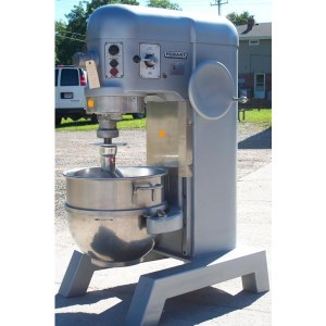 Re-manufactured Hobart 60 Quart Mixer with Hook & Bowl