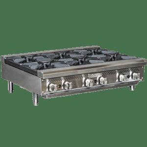 4 Open Burner Heavy Duty Hot Plate RHP-24-4