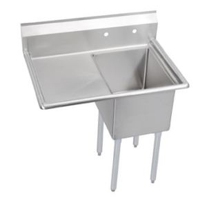 Single Compartment Sink w/Left Handed Drainboard
