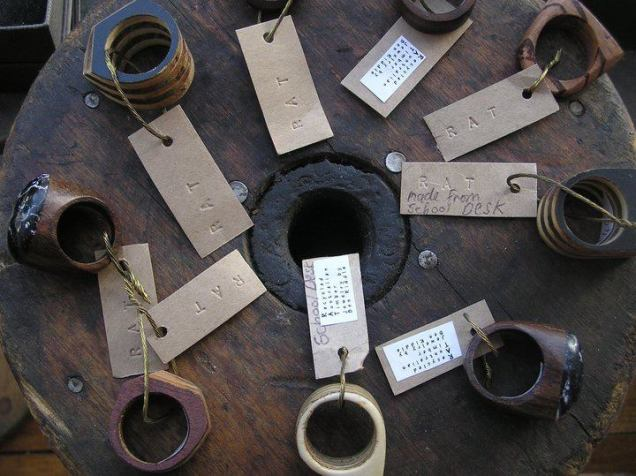 RAT- recycled timber rings