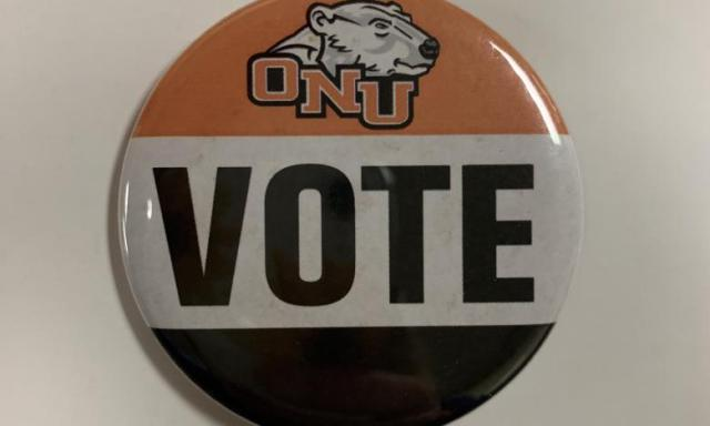 ONU voting button