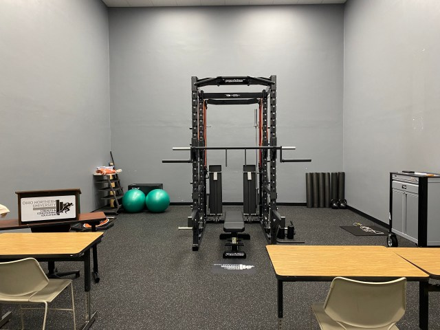 Strength and Conditioning Classroom/Lab Area