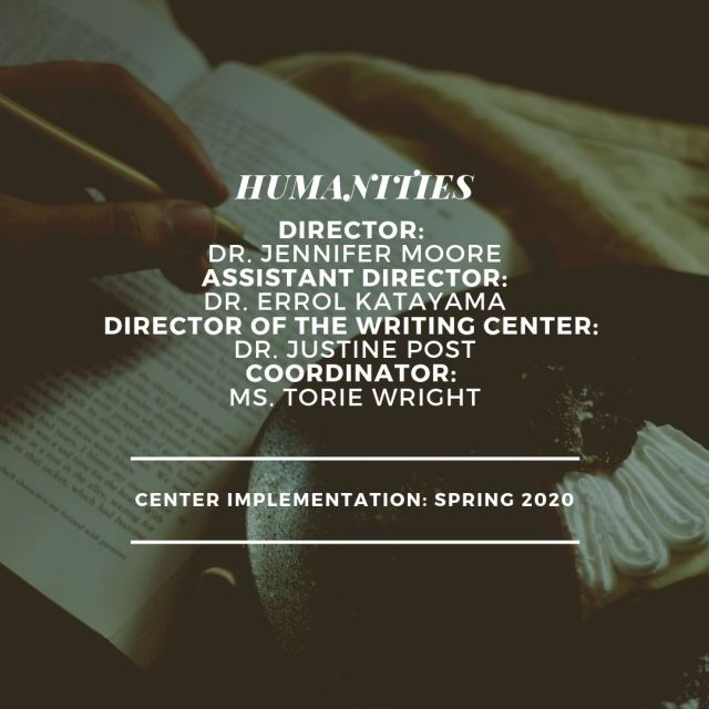Humanities Leadership