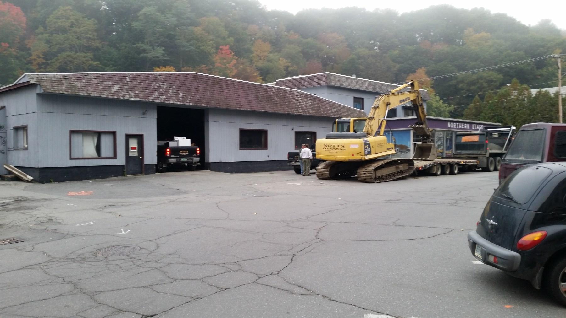 Demolition begins: 10-4-14