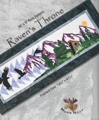 Raven's Throne Row Pattern