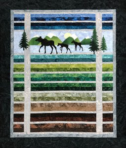 Moose Trio New Size by Marie Noah