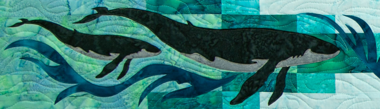 Whale Dance by Marie Noah Row by Row 2018