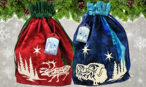 Arctic Holiday Gift Tags by Marie Noah