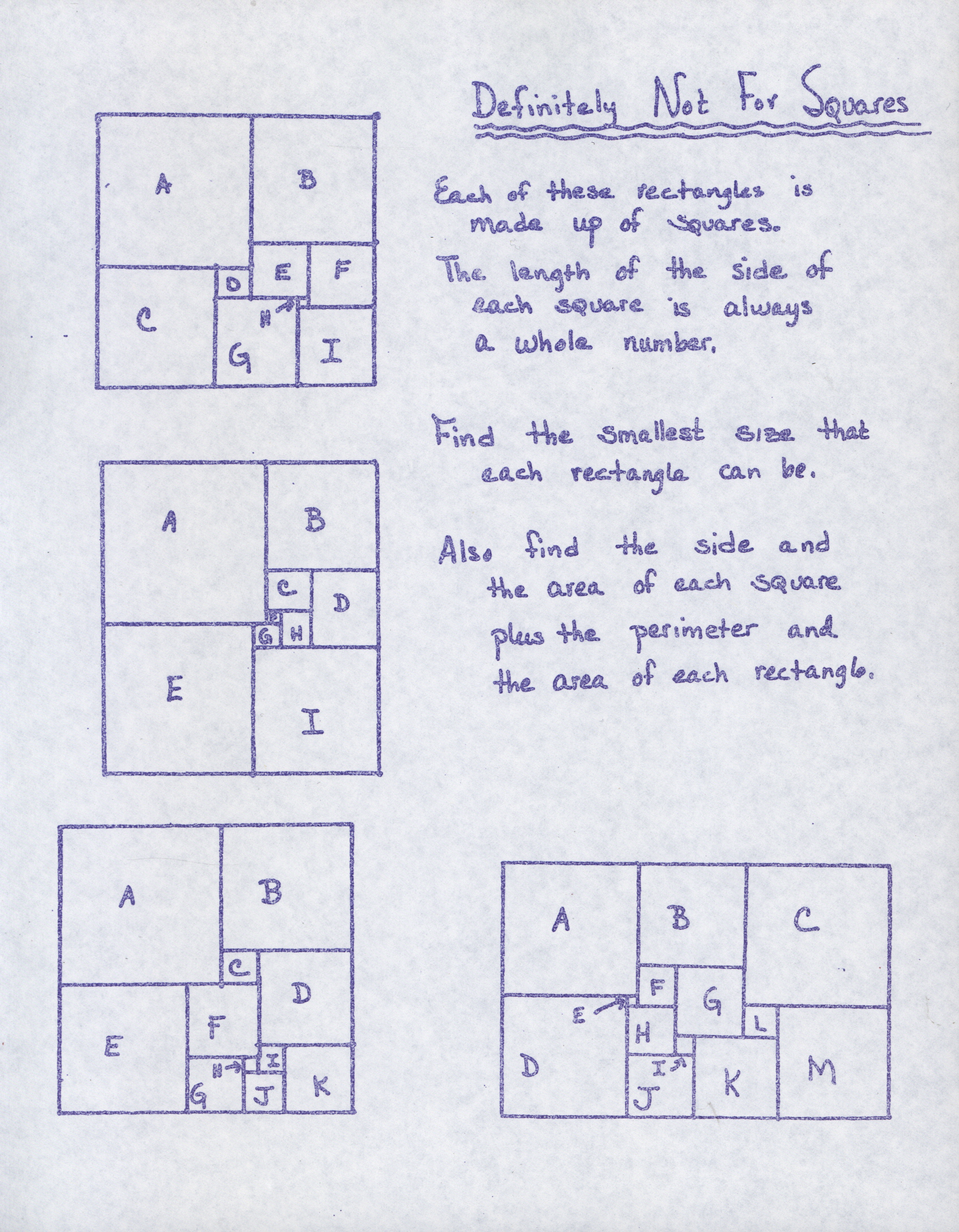 Collection Highlight Math Problem Sets In The John
