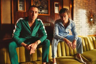 "The Last Shadow Puppets debut video for their latest single and title-track ""Everything You've Come To Expect"""