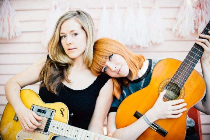 Katy Goodman and Greta Morgan stream forthcoming release 'Take It, It's Yours'. ahead of release.