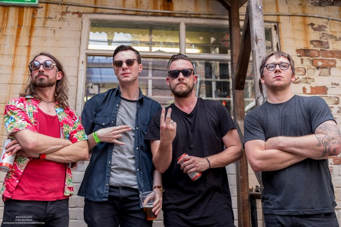 """LYING BSTRDS premiere their new single """"Youth and Old Age"""""""
