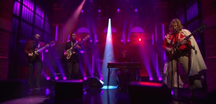 """Watch Ty Segall perform """"Break A Guitar"""", off his current self-titled LP, on Seth Myers."""