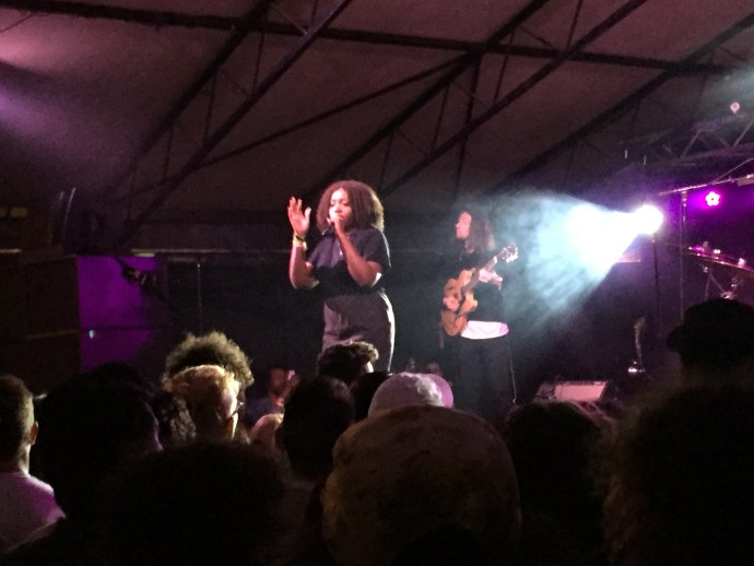 Noname at House of Vans.