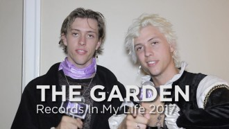 Fletcher and Wyatt Shears of the band The Garden, guest on 'Records In My Life'