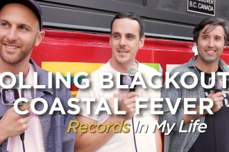 Rolling Blackouts CF recently guested on 'Records In My Life.'