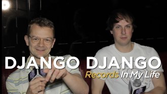 UK band Django Django, recently Guested On 'Records In my Life.' Members Tommy and Jimmy talked about some of therir favourites by The Beatles and more