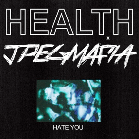 """HEALTH have joined forces JPEGMAFIA, on the single """"Hate You,"""" The rapper producer has been a fan of HEALTH since their MAX PAYNE 3 soundtrack"""