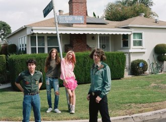 "Starcrawler are sharing a new single ""Hollywood Ending"" off their debut full-length, She Gets Around due out later this year via Rough Trade."