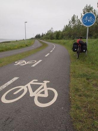 Reykjavik's great bike lanes