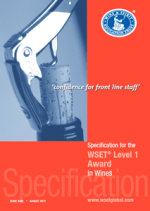 WSET® level 1 Specification