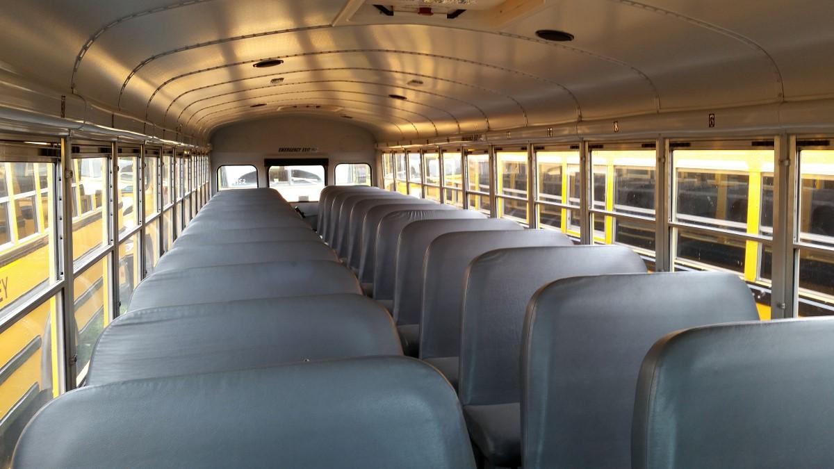 School Interior Bus Mid Bus