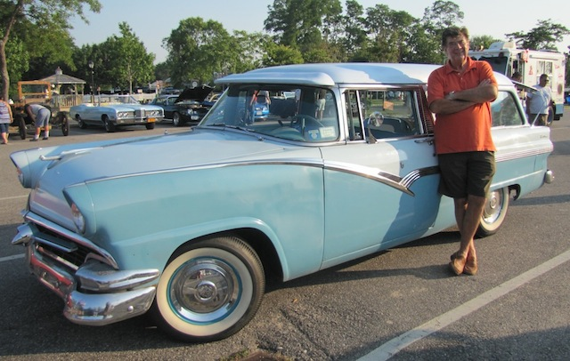 Meet the Drivers: Richard Trask and his '56 Ford Parklane Sports Station Wagon